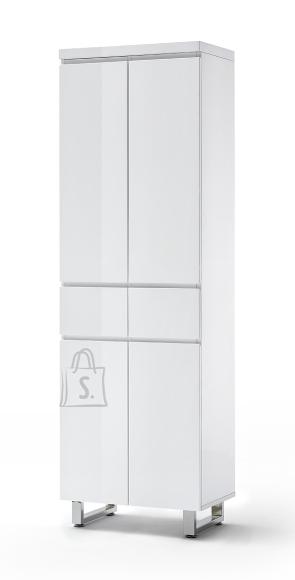 MCA Jalatsikapp SYDNEY valge läikega, 60x38xH197 cm