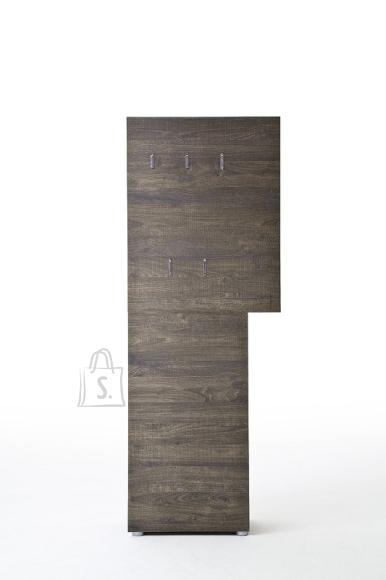 MCA Garderoobipaneel VICENZA tume tamm, 70x29xH190 cm
