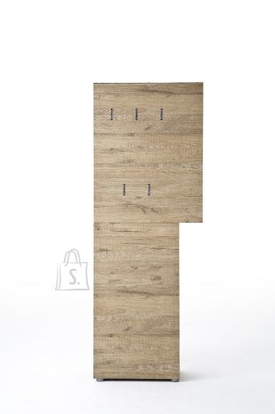 MCA Garderoobipaneel VICENZA  tamm, 70x29xH190 cm
