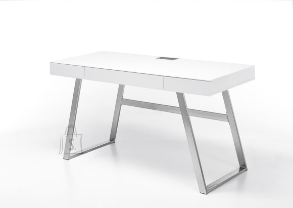 MCA Kirjutuslaud ASPEN valge, 140x60xH75 cm