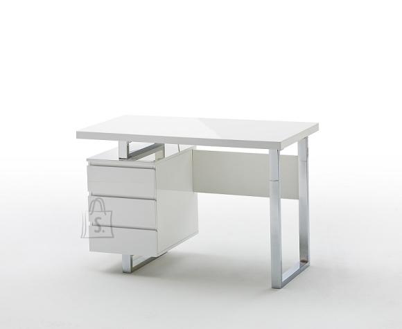 MCA Kirjutuslaud SYDNEY valge läige, 115x60xH76 cm