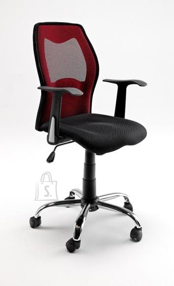 MCA Töötool FLORIAN must / punane, 56x61xH112 cm