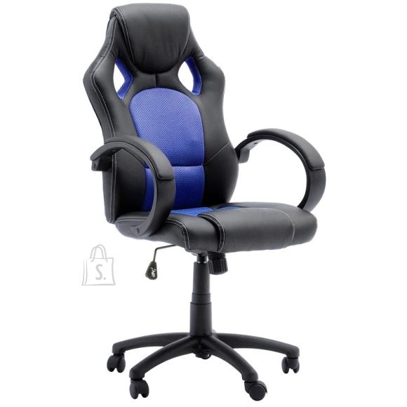 MCA Töötool RICKY must / sinine, 60x73xH107 cm