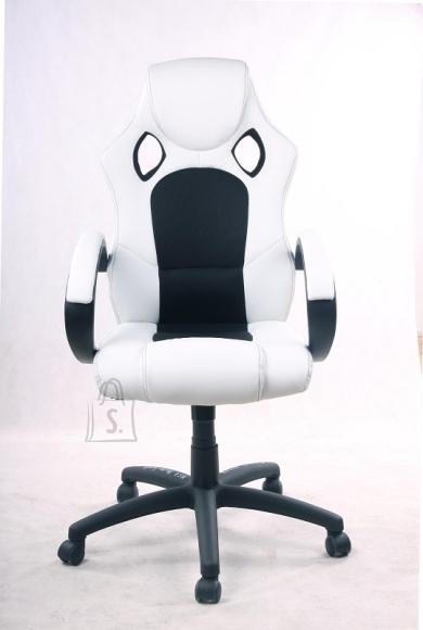 MCA Töötool RICKY valge / must, 60x73xH107 cm