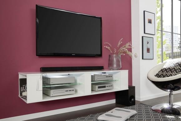 Trendteam TV-alus HENNES valge, 140x40xH30 cm