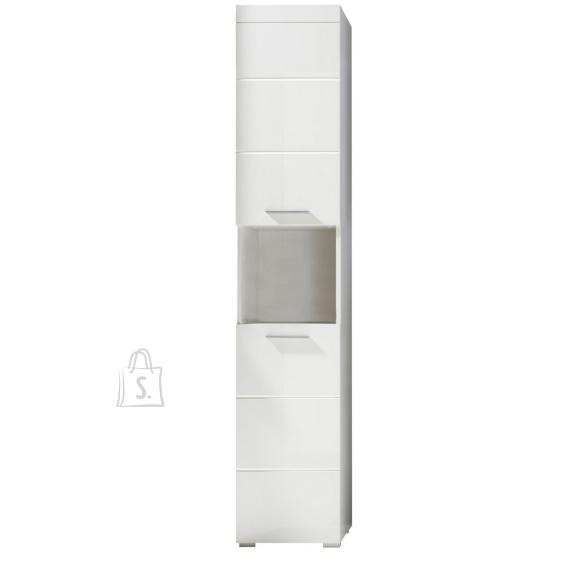 Trendteam Vannitoakapp AMANDA valge kõrgläige / valge, 37x31xH190 cm