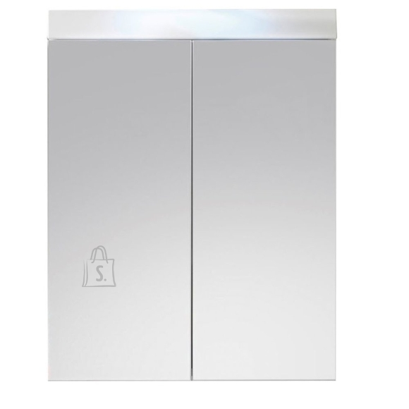 Trendteam Peegelkapp AMANDA valge läige, 60x17xH77 cm LED