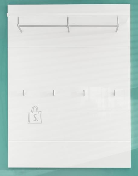 Trendteam Seinanagi AMANDA valge läige, 91x27xH120 cm