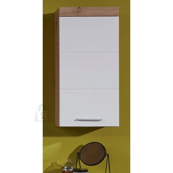 Trendteam Seinakapp AMANDA valge läige / metsik tamm, 37x23xH77 cm