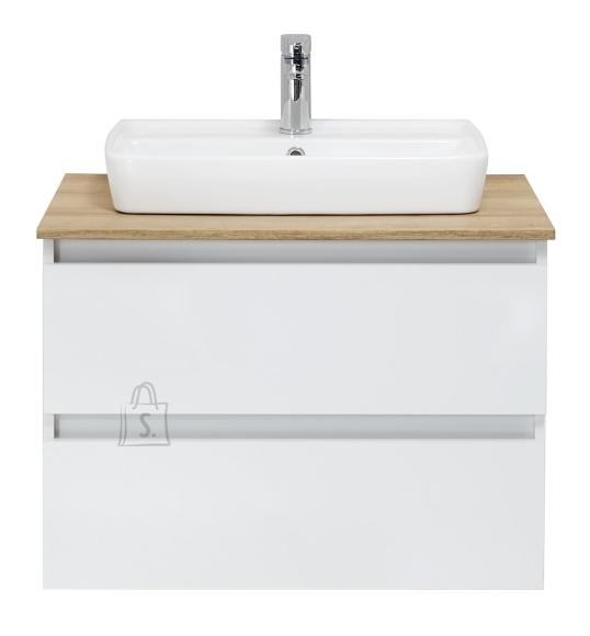 Pelipal Valamukapp + valamu BALU valge läige, 75x49xH53 cm LED