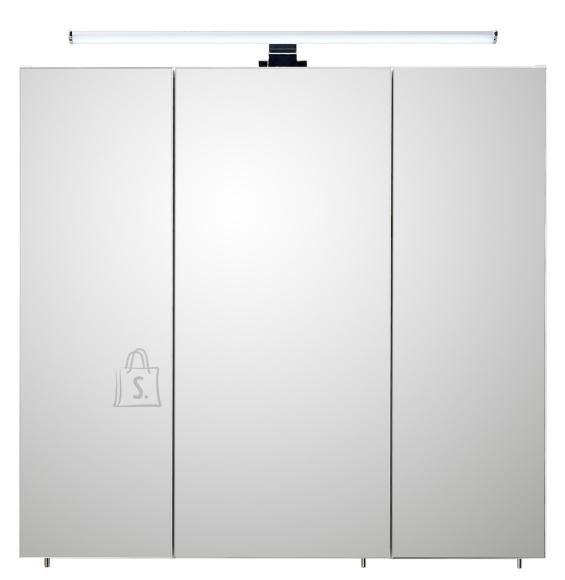 Pelipal Peegelkapp BALU valge läige, 75x20xH70 cm LED