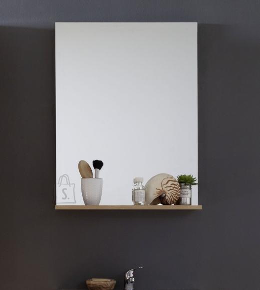 Trendteam Peegel riiuliga INTENSO tamm, 60x16xH78 cm