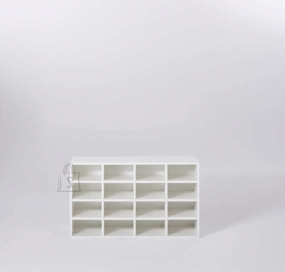 Trendteam Jalatsiriiul BASIX valge, 92x33xH61 cm