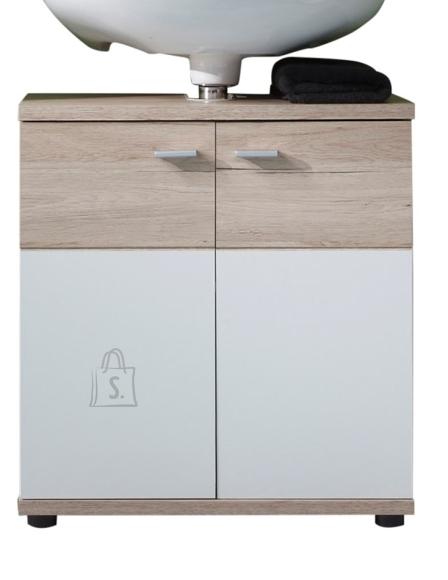 Trendteam Valamukapp CAMPUS tamm / valge, 60x35xH65 cm