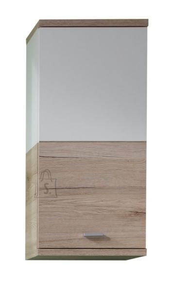 Trendteam Seinakapp CAMPUS tamm / valge, 36x25xH79 cm