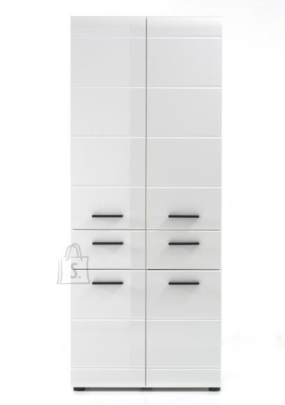 Trendteam Vannitoakapp SKIN valge läige, 60x31xH182 cm