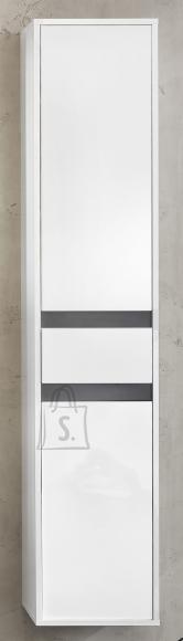 Trendteam Vannitoakapp SOL valge / hall, 35x31xH172 cm