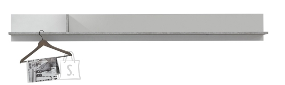Trendteam Seinariiul CANARIA valge / hall 204x21xH22 cm
