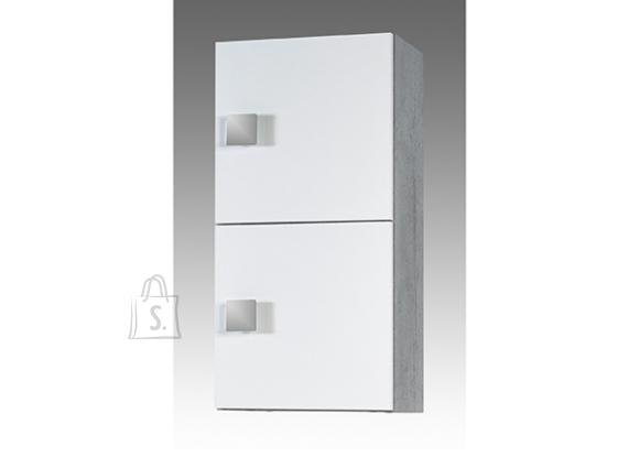 Schildmeyer Seinakapp QUADRA hall / valge, 33x20xH65 cm