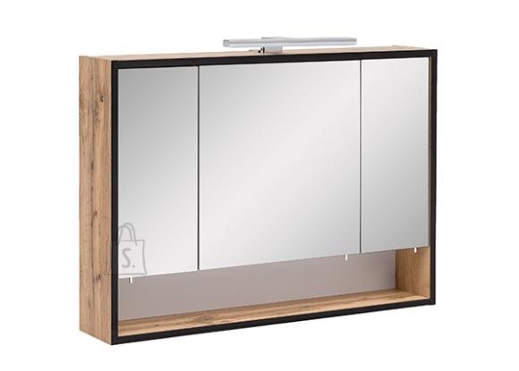 Schildmeyer Peegelkapp MAX tamm, 80x16xH60,5 cm, LED