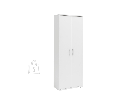 Schildmeyer Kontorikapp PRAHA valge, 65x34xH182 cm