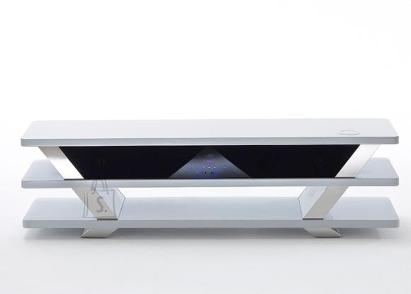 MCA Tv-alus helisüsteemiga CHEVRON valge, 150x39xH42 cm