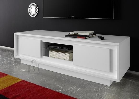 MCA Tv-alus SKY mattvalge, 156x50xH45 cm