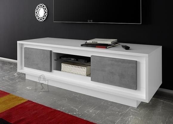 MCA Tv-alus SKY mattvalge / betoon, 156x50xH45 cm