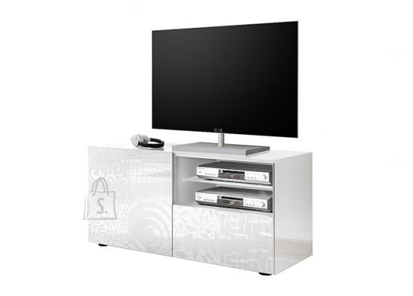 MCA Tv-alus MIRO valge läige, 122x43xH57 cm