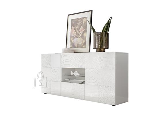 MCA Kummut MIRO valge läige, 181x43xH84 cm