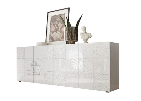 MCA Kummut MIRO valge läige, 241x43xH84 cm