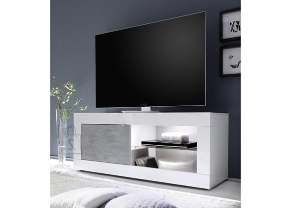 MCA Tv-alus BASIC valge läige / betoon, 140x43xH56 cm