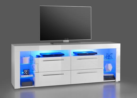 MCA Tv-alus GOL valge läige, 180x40xH67 cm, LED