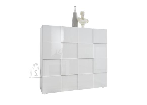 MCA Kummut DAMA valge läige, 121x43xH111 cm