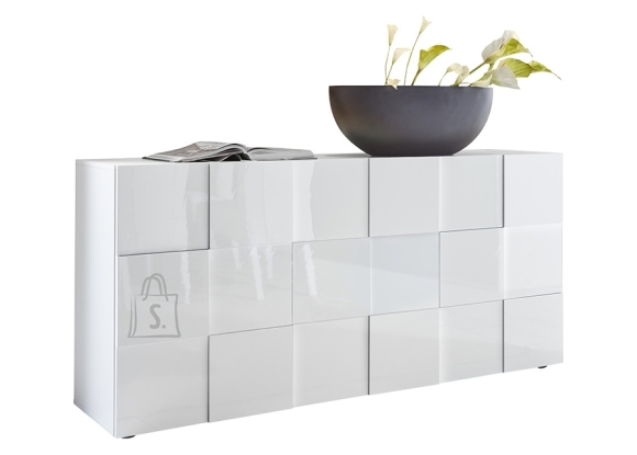 MCA Kummut DAMA valge läige, 181x43xH84 cm