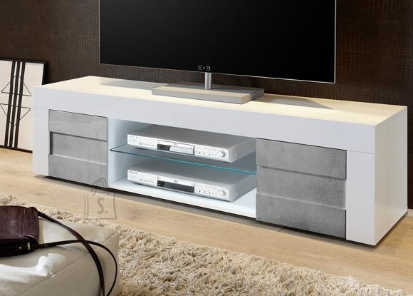 MCA Tv-alus EASY valge läige / betoon, 181x42xH44 cm