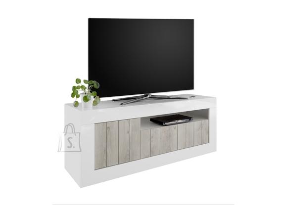 MCA Tv-alus URBINO valge läige / hele mänd, 138x42xH56 cm, LED