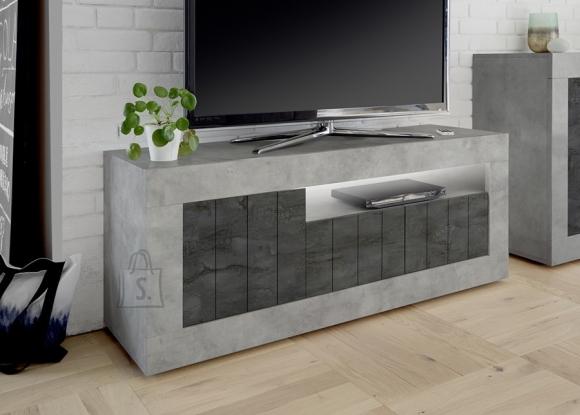 MCA Tv-alus URBINO betoon / tumehall, 138x42xH56 cm, LED