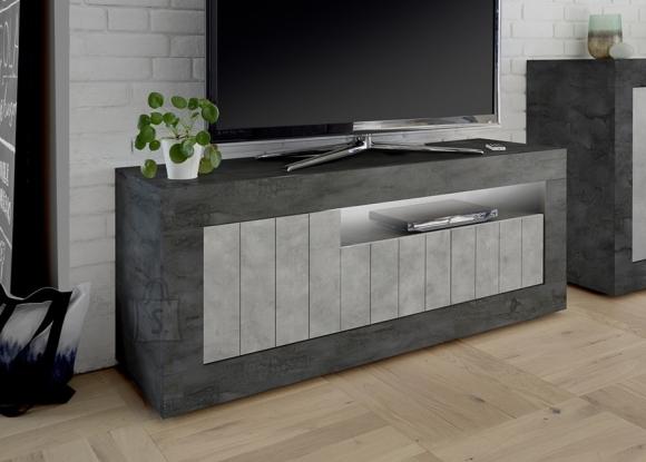 MCA Tv-alus URBINO tumehall / betoon, 138x42xH56 cm, LED