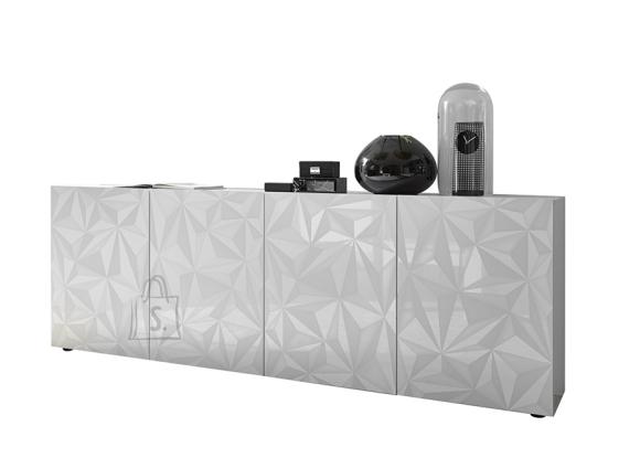 MCA Kummut PRISMA valge läige, 241x42xH84 cm
