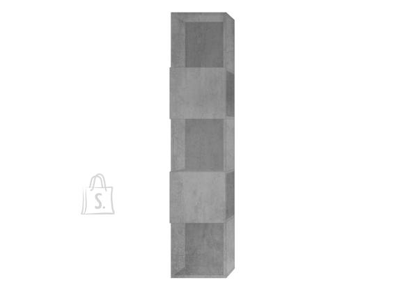 MCA Raamaturiiul INFINITY betoon, 33x35xH158 cm