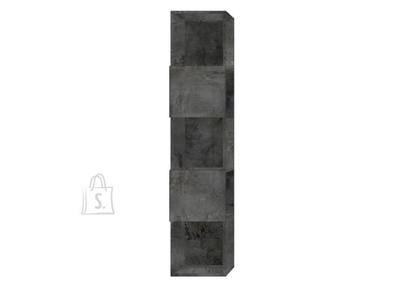 MCA Raamaturiiul INFINITY tumehall, 33x35xH158 cm