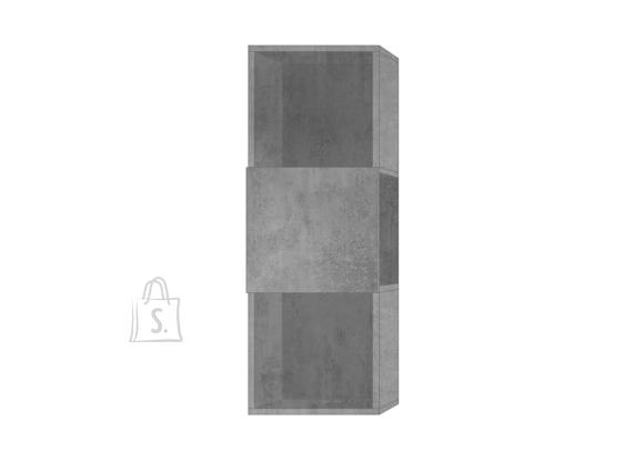 MCA Raamaturiiul INFINITY betoon, 33x35xH92 cm