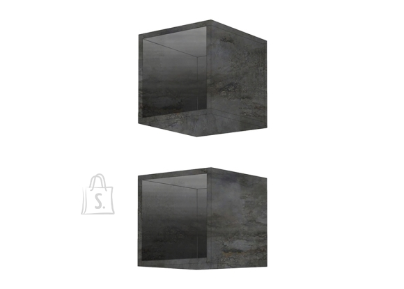 MCA Seinariiulid INFINITY tumehall, 28x30xH29 cm