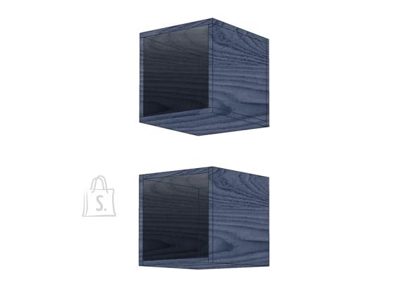 MCA Seinariiulid INFINITY sinine, 28x30xH29 cm