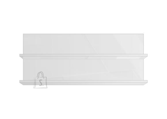 MCA Seinariiul INFINITY valge läige, 115x18xH48 cm
