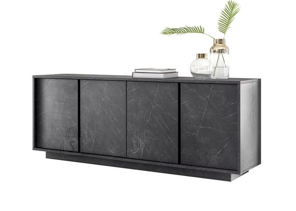 MCA Kummut ICE antratsiit marmor, 180x43xH79 cm