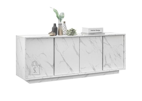 MCA Kummut ICE valge marmor, 180x43xH79 cm