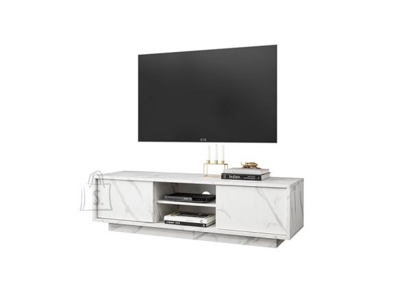 MCA Tv-alus ICE valge marmor, 139x43xH44 cm