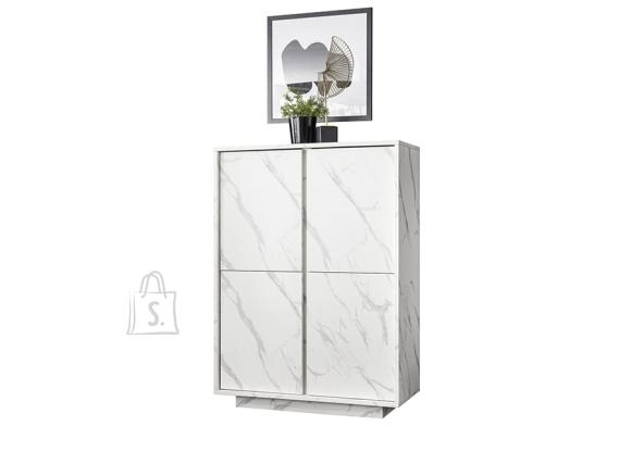 MCA Kummut ICE valge marmor, 92x43xH145 cm